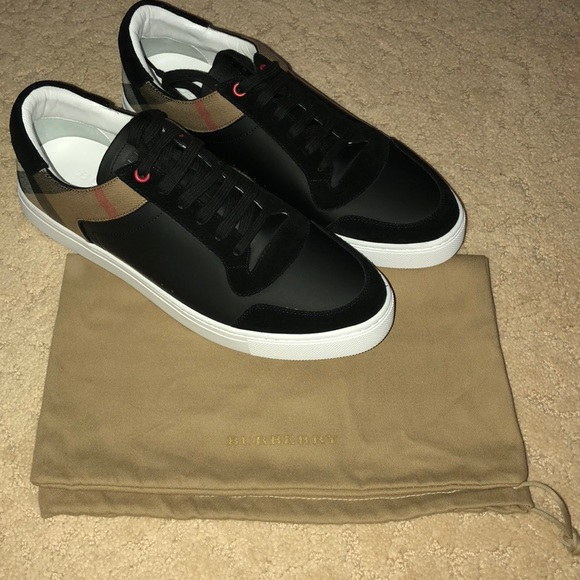best selling uk cheap sale super popular New Men's Burberry Reeth Sneakers Size 44 Boutique